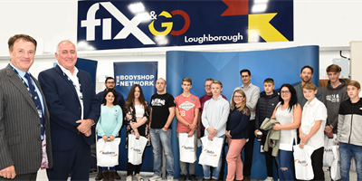 """Promising apprenticeship candidates"" attend Fix Auto Loughborough open evening"